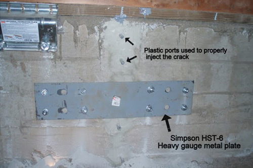 crack repair foundation - Fixing Foundation Cracks