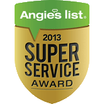 Winner, 2013 Angie's List Super Service Award