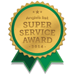 Winner, 2014 Angie's List Super Service Award