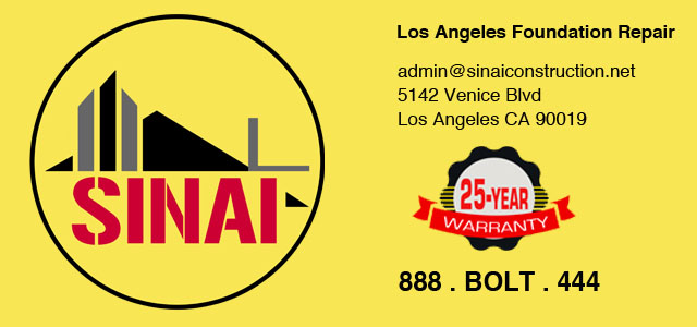 Sinai Construction Foundation Repair Los Angeles