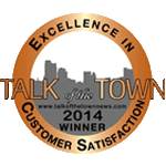 Talk of the Town Award winner for Customer Satisfaction