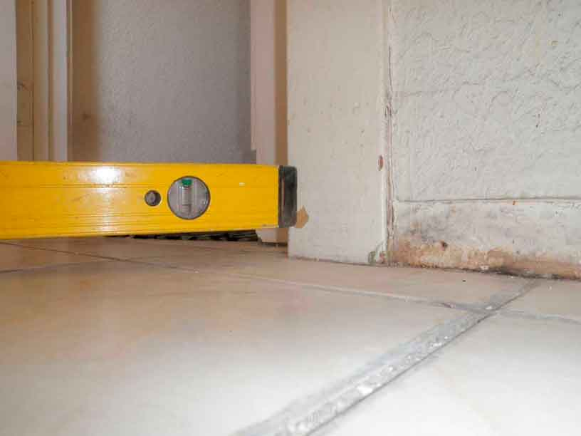 most common causes of sloping floors los angeles