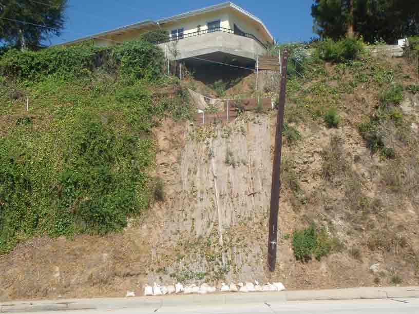 Los angeles hillside foundation repair sinai for House foundation on slope