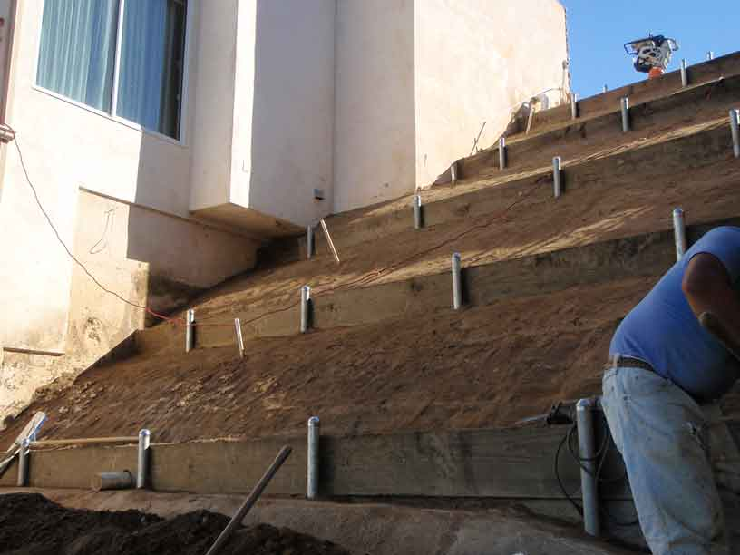 Los Angeles Slope Repair Sinai Construction Engineering