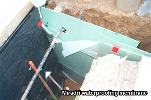 Los Angeles Basement Water Proofing Sinai Construction Engineering